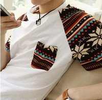 Wholesale 3pcs summer top short sleeve clothing Fashion man s t shirt brand man T Shirts round boy neck t shirt