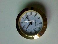 clock inserts - whole sale insert clock clock head mm watch movmement plastic gold plated