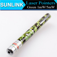 Wholesale 1mW mW nm Green Laser Pointer Pen Camouflage Laser Pointers for teaching PPT Hunting SOS Xmas Gift DHL