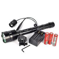 powerful flashlight - Trustfire Lm Powerful XML xT6 LED Tactical Flashlight Lantern Mode Torch Battery Charger Remote Switch Gun Mount