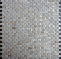 bathroom improvements - Home Improvement Bridge Shell Mosaic Tile Backsplash Decorative river shell Mother Of Pearl Mosaic Tile Kitchen Bathroom Floor