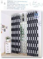 Wholesale High grade green black silk curtains custom curtain living room bedroom balconycurtain