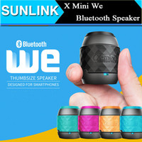 audio update - NEW X MINI WE Bluetooth Mini Speaker Updated from X Mini Portable Speakers with Handle Cap Hook Cute Subwoofers for iPhone Samsung Android