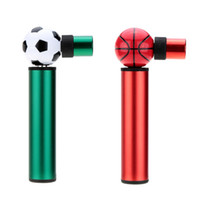 Wholesale Portable Bicycle Pump Lightweight Bike Bicycle Motorbike Pump Mini Hand Pressure Air Inflator Tyre Ball Inflator Pump