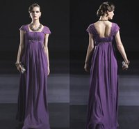 Cheap Groom Mother Dresses 2015 Empire Pant Suits Lace Sleeves Casual Evening Party Dress Cheap Formal Wear For Women Off The Shoulder Purple Sexy