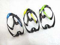 Wholesale 2pcs Bicycle Water Bottles Holder Carbon Fiber Material Bike Bottle Cages Large Capacity Water Bottles Cages Colors