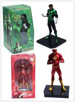 Wholesale 20Sets Marvel DC Comics Unlimited The Flash Superman Green Lantern PVC Action Figure Collection Toy EMS Free