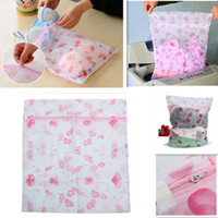 Wholesale Large Laundry Saver Bag Women Hosiery Bra Underwear Clothing Washing Lingerie Wash Protecting Mesh Bag Home Travel Use
