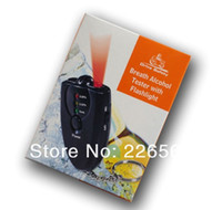 Wholesale Pieces Personal Breath Alcohol Tester With Flashlight with Retail Package