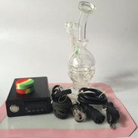 Wholesale Water pipes glass bongs Electronic Temperature Controller Box For DIY Smoker Nail Coil With Ti Nail Glass Bong