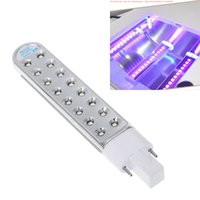 Wholesale High quality W LED Light Bulb For UV Lamp Nail Art Gel Polish Dryer Tube Replacement Nail Dryers UV Light bulb lamp