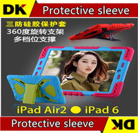 Wholesale Pepkoo Defender Military Spider Stand Water dirt shock Proof Case Cover Ipad iPad Air iPad Mini