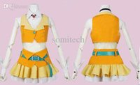 Wholesale Vocaloid GUMI Megpoid cosplay costume customized