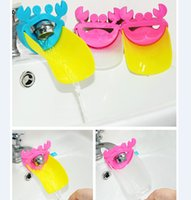 Wholesale Popular Style Cute Bathroom Water Faucet Extender For Kid Hand Washing Child Gutter Sink Guide