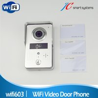 wireless door camera - 2015 Hot New Wifi Video Door Phone Doorbell Wireless Video Door Bell with Camera Intercom Phone Control Home Door Access