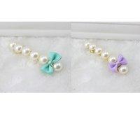 Wholesale Hot saling fashion New Korean Style Beautiful Hair Clip Full Pearl Bowknot Hair Ornaments Accessories Hairpins