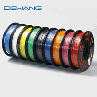 printer ribbon - DeWang R Random Color D Printer PLA Filaments mm Plastic Rubber Ribbon Consumables for d Printer Pen order lt no
