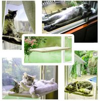 Wholesale Cats Sunny Seat Hammock Pet Cats Small Animal Dogs Sucker Hammock Cat Beds Glass Wall Pads Supplies Love Your Pets