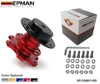 Wholesale TANSKY EPMAN Universal High Quality Red Steering Wheel Quick Release Hub Adapter Snap Off Boss Kit EP CA0011 RD