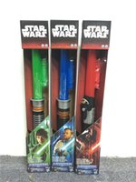 Wholesale 60pcs hot fashion colors star wars laser sword lightsabers attachable laser lightsabers LED toy star wars cosplay D537