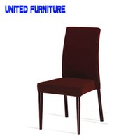 Wholesale china modern furniture economic fabric metal dining chair A03