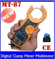 dc electronic meter - Brand New Digital Clamp Meter Multimeter Current Voltage AC DC Electronic Tester High quality