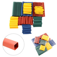 Wholesale New Kit Heat Shrink Tubing Tube Sleeving Wrap Wire Sizes Halogen Free Polyolefin Tubing