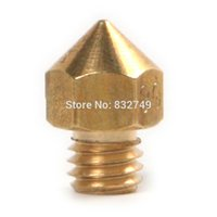 Wholesale 1 MakerBot Replicator Brass Nozzle mm mm mm mm Brass Mist Nozzle Other Tools order lt no track