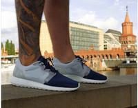 Wholesale 2014 new Brand name London run roshe barefoot Men s men athletic running sport shoes color