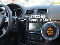 12V push start button car - Yeti Keyless Go CAR Smart Key Push Button Remote Start Car Alarm Can Bus Keyless Entry for Skoda A102