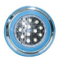 Wholesale New W RGB LED Underwater Light VDC Landscape Lamp Swimming Pool Wall Lamp