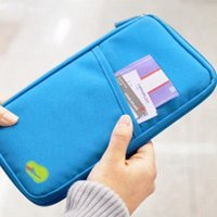 aircraft bags - New Arrivals Travel Aircraft Passport Bag Multifunction Credentials Handbag Storage Card Pack