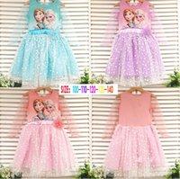 Cheap Frozen long sleeve dress Best Frozen princess dresses