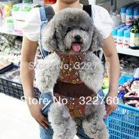 Wholesale fashion pet dog Cat cross body backpack kangaroo chest pack clothing bag