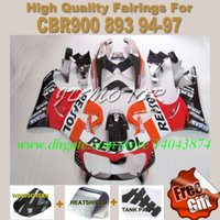Wholesale REPSOL Fairing kit for HONDA CBR900RR CBR900 RR CBR RR fairings windscreen