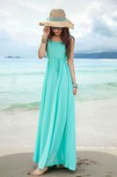 Casual Dresses Long House Suede Women Boho hot girl beach dress elegant new soft material goods solid sundress sleeveless long maxi dress swing ML