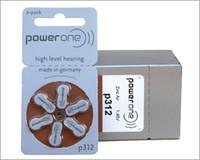 Wholesale 60PCS Box PowerOne PR41 P312 A312 Zinc air button battery for Hearing aid