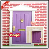 Wholesale 2015 fairy doors for girl factory cute toys girls fairy doors for children minature doors for kids