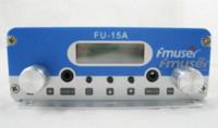 Wholesale New FMUSER FU A W stereo PLL FM transmitter broadcaster GP antenna power KIT radio transmitter