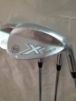 Wholesale golf clubs Silver X C Grind wedges degree with steel shaft golf wedges RH