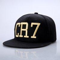 Wholesale brand Cristiano Ronaldo CR7 caps Baseball hip hop Sports bboy Snapback Basketball hats bone casquette Men gorras CR7 caps