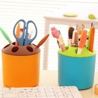 Wholesale New Arrivals Colorful Toothbrush Pen Holder Bathroom Accessories Multifunction Creative Plastic Size CM JB15