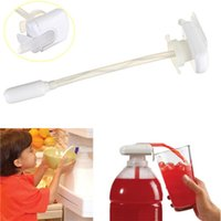 Wholesale 1PCS Hot Selling Convenient Magic Tap Electric Automatic Water Drink Beverage Dispenser White Home Decor