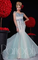 rhinestone see through dress - New Arrival Cystal Rhinestones Prom Dresses With Cap Sleeve Sequin Prom Gowns See Through Sexy Party Evening Dresses