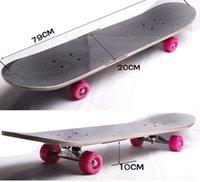 Wholesale New four wheel street longboard skate board Maple wheel skateboard stimulating adventure skateboard inch