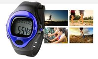 bicycle calories - polar heart rate monitor calorie counter watch pulse meter bike bicycle running sports pedometer watch boys waterproof digital