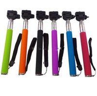 Wholesale Monopod With Cell phone clip holder Adjustable Monopod with Holder for iphone s s SAMSUNG GALAXY S5 NOTE
