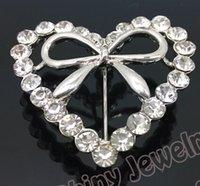 aqua blue scarf - Dual Purpose Brooch Pin Pashmina Clip Bling Rhinestone Scarf Clip Wedding Dress Heart Brooch Pin