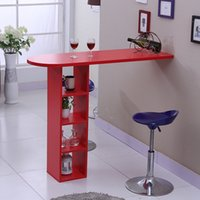 Wholesale Red Simple bar rotating table of home living room partition table wine bar