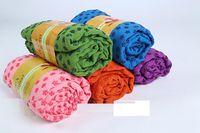 Wholesale 2016 anti skid mircrofiber yoga towel x61cm Eco friendly yoga mat colours piece